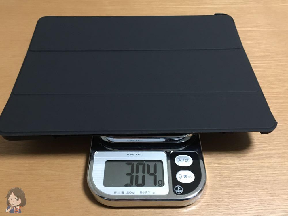 iPad Proケースの重さ