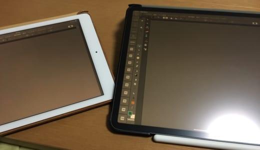 当たり前だけど、第3世代 iPad Pro(2018年モデル)で絵は描ける。ファーストインプレッション