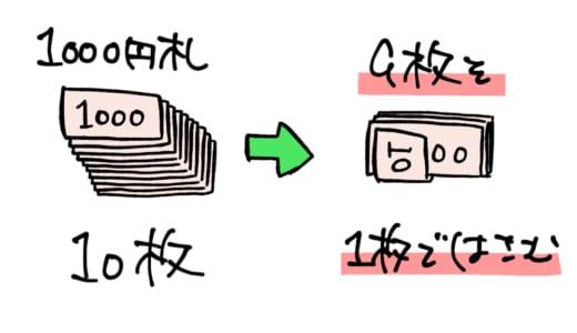 1000円札を9+1で束にした状態でそのままコンビニATMに入れたらどうなる?⇒ALSOKが来ます